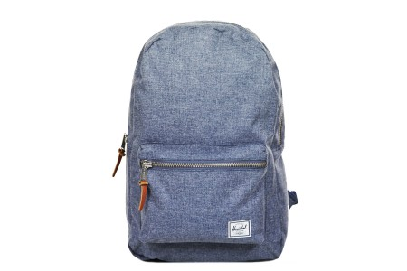 Herschel Sac à dos Settlement dark chambray crosshatch