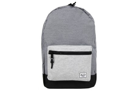 Herschel Sac à dos Settlement mid grey crosshatch/black/light grey crosshatch