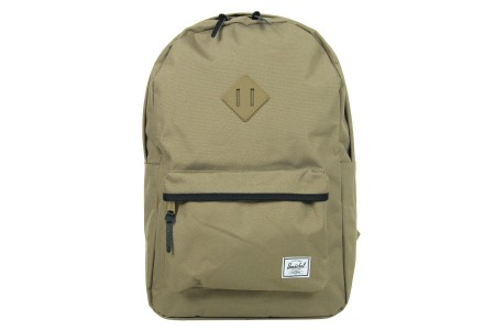 Herschel Sac à dos Heritage lead green/black/lead green rubber/black