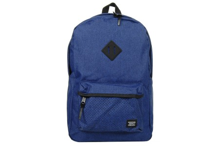 Herschel Sac à dos Heritage Aspect eclipse crosshatch/black rubber