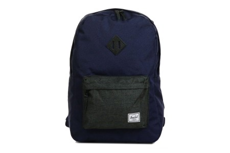[BLACK FRIDAY] Herschel Sac à dos Heritage peacoat/black crosshatch