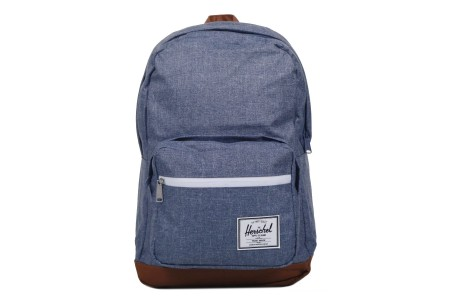 [BLACK FRIDAY] Herschel Sac à dos Pop Quiz dark chambray crosshatch/tan