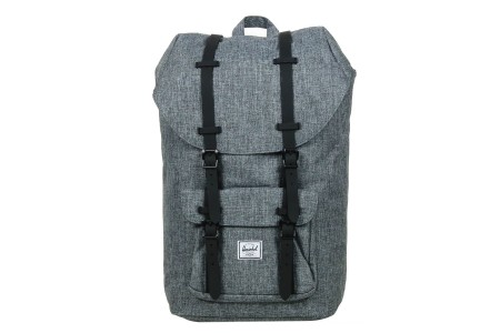 [BLACK FRIDAY] Herschel Sac à dos Little America raven crosshatch/black rubber