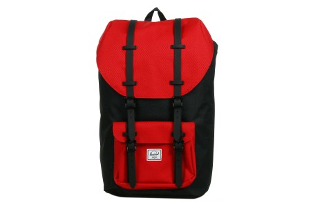 [BLACK FRIDAY] Herschel Sac à dos Little America black/scarlet