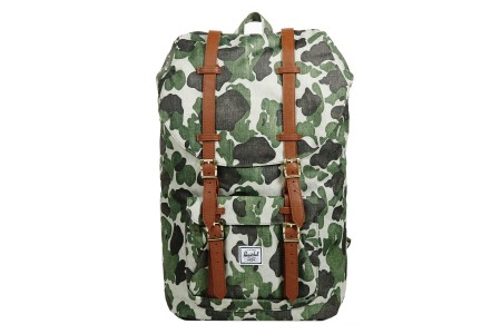 [BLACK FRIDAY] Herschel Sac à dos Little America frog camo/tan synthetic leather