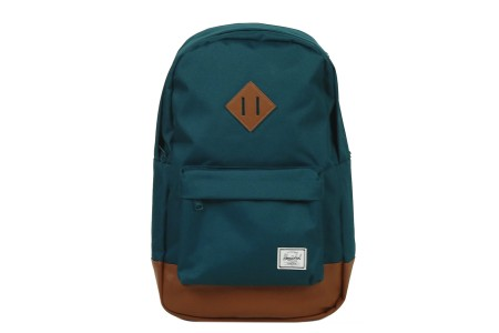 [BLACK FRIDAY] Herschel Sac à dos Heritage Mid Volume deep teal/tan synthetic leather