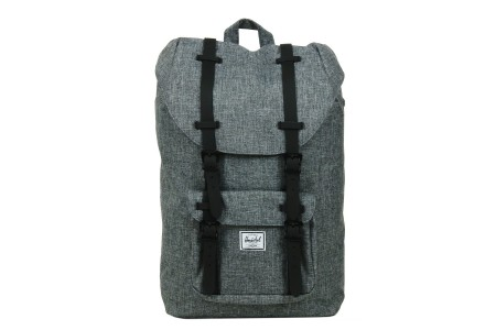 [BLACK FRIDAY] Herschel Sac à dos Little America Mid Volume raven crosshatch/black rubber