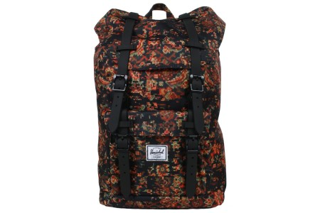 [BLACK FRIDAY] Herschel Sac à dos Little America Mid Volume century/black rubber
