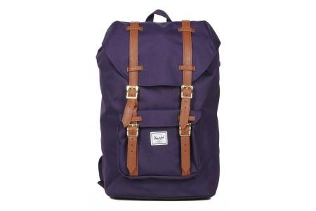 Herschel Sac à dos Little America Mid Volume purple velvet