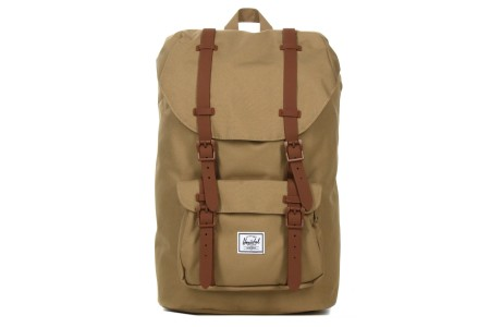 Herschel Sac à dos Little America Mid Volume kelp/saddle brown