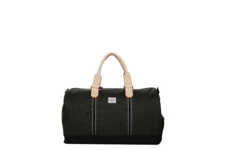 [BLACK FRIDAY] Herschel Sac de voyage Novel Offset 52 cm black crosshatch/black