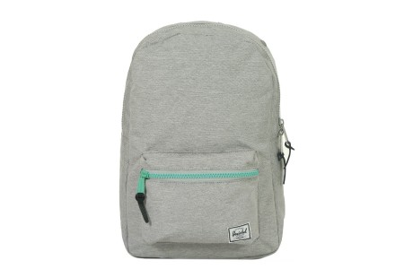 [BLACK FRIDAY] Herschel Sac à dos Settlement Mid Volume light grey crosshatch/lucite green zip