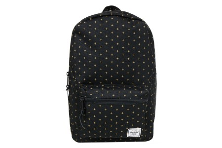 [BLACK FRIDAY] Herschel Sac à dos Settlement Mid Volume black gridlock gold