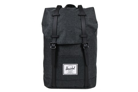 [BLACK FRIDAY] Herschel Sac à dos Retreat black crosshatch/black rubber