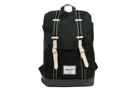 Herschel Sac à dos Retreat Offset black/black denim
