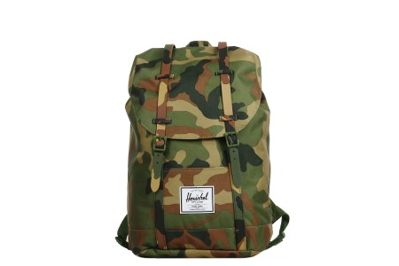 Herschel Sac à dos Retreat woodland camo