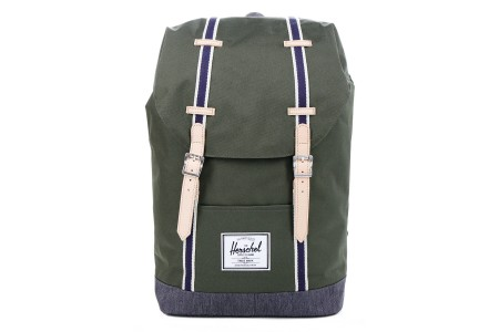 [BLACK FRIDAY] Herschel Sac à dos Retreat Offset forest night/ dark denim