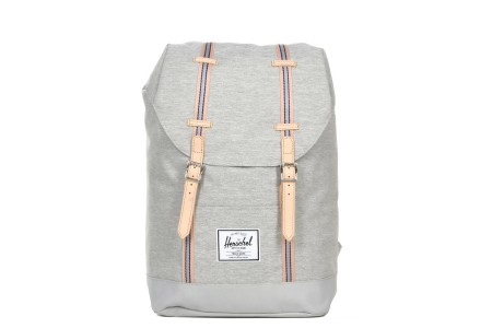 [BLACK FRIDAY] Herschel Sac à dos Retreat Offset light grey crosshatch/high rise