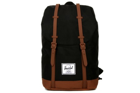 [BLACK FRIDAY] Herschel Sac à dos Retreat black/saddle brown