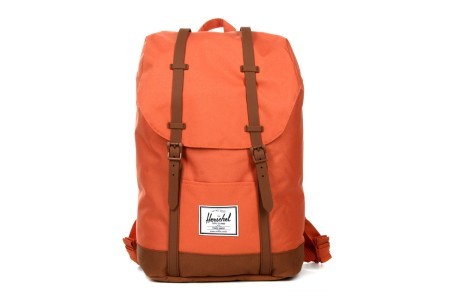 Herschel Sac à dos Retreat apricot brandy/saddle brown