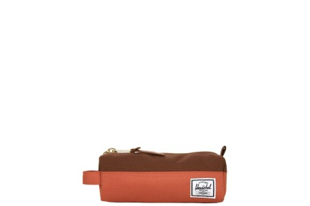 Herschel Trousse Settlement Case apricot brandy/saddle brown