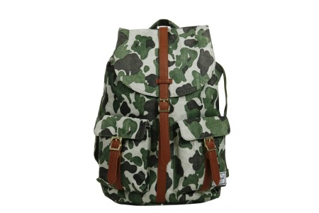 [BLACK FRIDAY] Herschel Sac à dos Dawson frog camo/tan synthetic leather