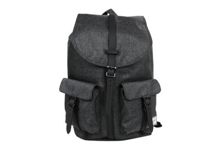 [BLACK FRIDAY] Herschel Sac à dos Dawson black crosshatch/black rubber