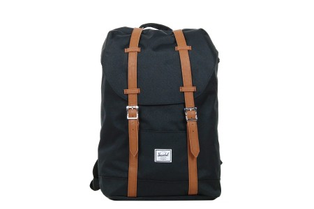 Herschel Sac à dos Retreat Mid-Volume black/tan