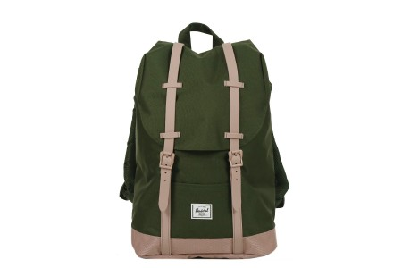 [BLACK FRIDAY] Herschel Sac à dos Retreat Mid-Volume forest night/ash rose