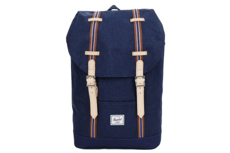 [BLACK FRIDAY] Herschel Sac à dos Retreat Mid-Volume Offset medieval blue crosshatch/medieval blue