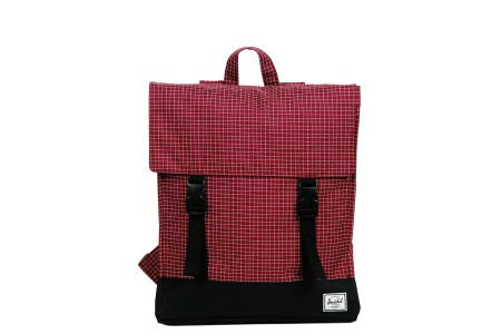 Herschel Sac à dos Survey windsor wine grid/black
