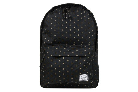 [BLACK FRIDAY] Herschel Sac à dos Classic Mid-Volume black gridlock gold