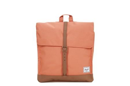 Herschel Sac à dos City Mid-Volume apricot brandy/saddle brown