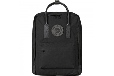 FJALLRAVEN Kånken No.2 Mini - Sac à dos - with black handles noir Noir