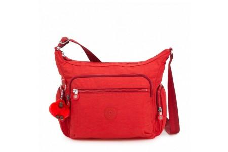 Kipling Sac épaule Medium Avec Bretelle Ajustable Active Red