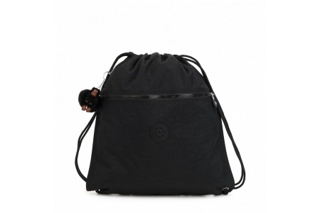 Kipling Grand Sac à Cordon True Black