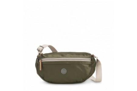 Kipling Petit sac à bandoulière avec bretelle réglable Elevated Green