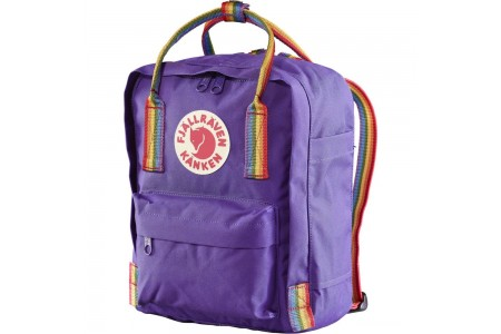 [BLACK FRIDAY] FJALLRAVEN Kånken Rainbow Mini - Sac à dos - violet Violet