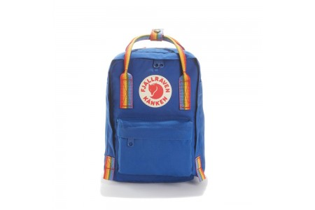 FJALLRAVEN Sac à dos mini KANKEN RAINBOW MINI Bleu