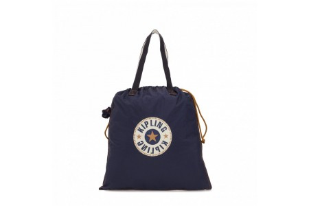 Kipling Grand fourre-tout pliable Active Blue Bl