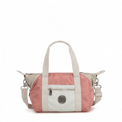Kipling Mini Fourre-Tout De Voyage Avec Bandoulière Détachable Joyous Pink Bl