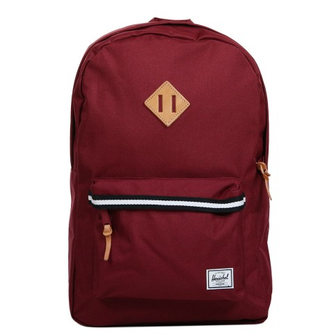 Herschel Sac à dos Heritage Offset windsor wine/veggie tan leather
