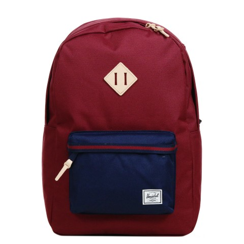 Herschel Sac à dos Heritage Offset windsor wine/peacoat