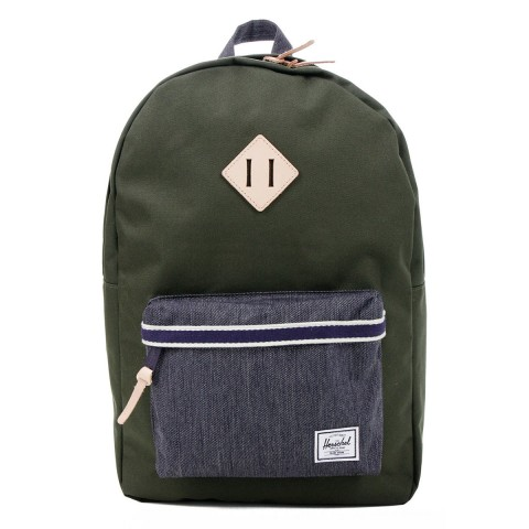 Herschel Sac à dos Heritage Offset forest night/ dark denim