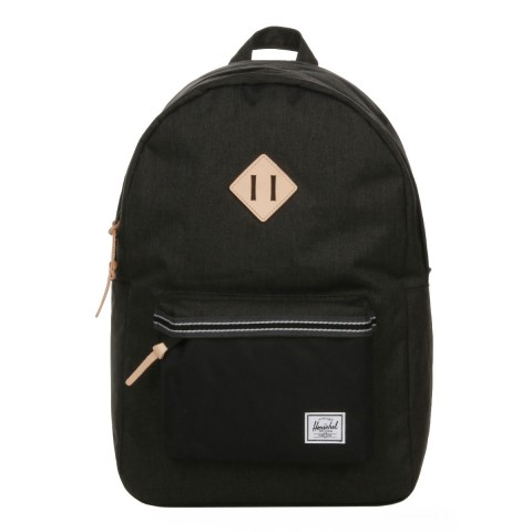 Herschel Sac à dos Heritage Offset black crosshatch/black