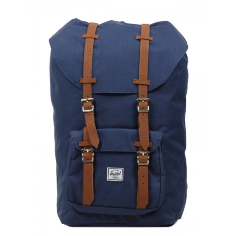 Herschel Sac à dos Little America navy/tan