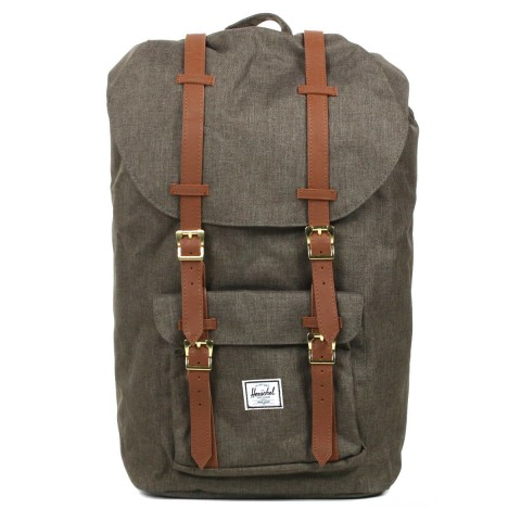 Herschel Sac à dos Little America canteen crosshatch/tan