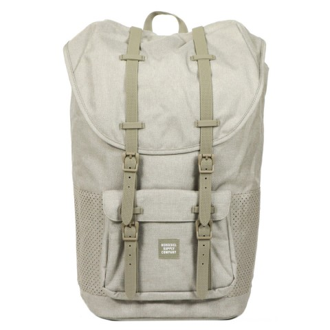 Herschel Sac à dos Little America Aspect dark khaki crosshatch/seneca rock rubber