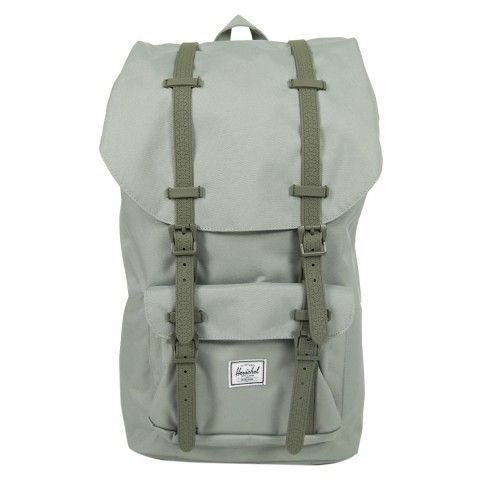 Herschel Sac à dos Little America shadow/beetle rubber