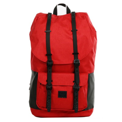 Herschel Sac à dos Little America Aspect barbados cherry crosshatch/black